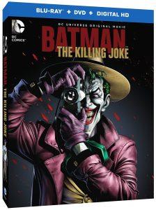 Batman: The Killing Joke Blu-ray cover art