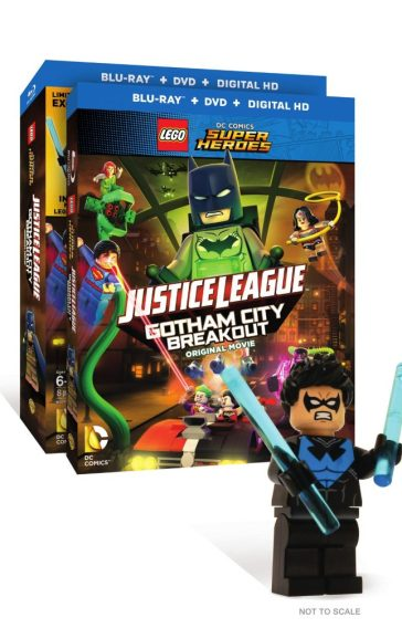 LEGO DC Super Heroes: Justice League: Gotham City Breakout! Box Art