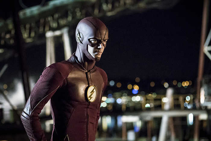 """The Flash -- """"Flashpoint"""" -- Image: FLA301a_0182b.jpg -- Pictured: Grant Gustin as The Flash -- Photo: Katie Yu/The CW -- © 2016 The CW Network, LLC. All rights reserved."""
