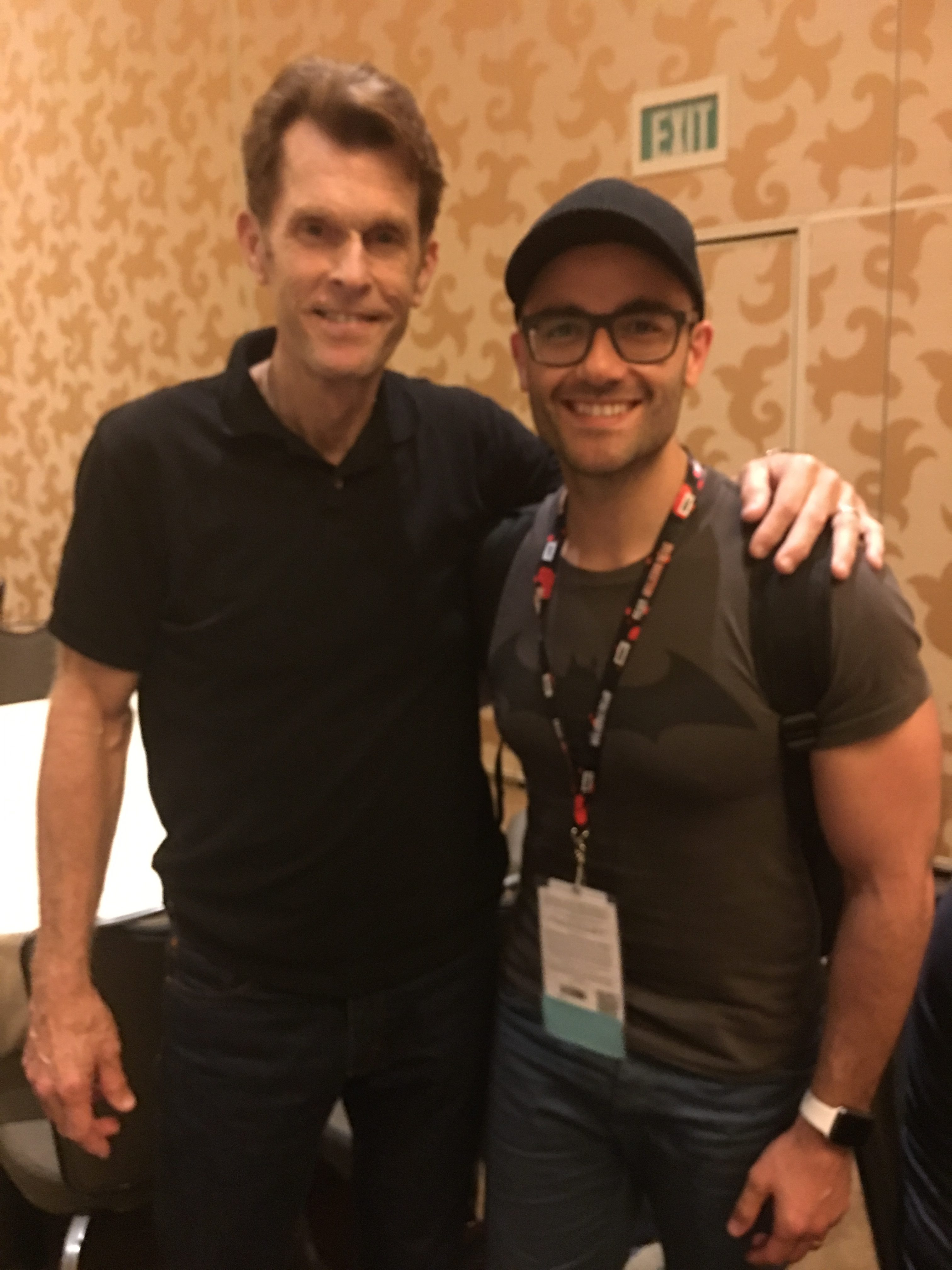 Interviewing Kevin Conroy was a pleasure at SDCC16