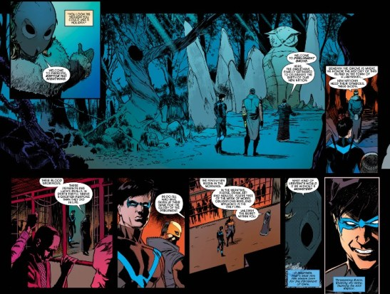 Nightwing 4 Owl Cave