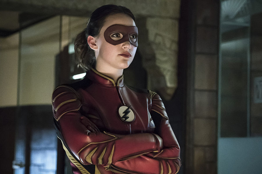 """The Flash -- """"The New Rouges"""" -- Image FLA304a_0099b.jpg -- Pictured: Violett Beane as Jesse Quick -- Photo: Katie Yu/The CW -- © 2016 The CW Network, LLC. All rights reserved."""