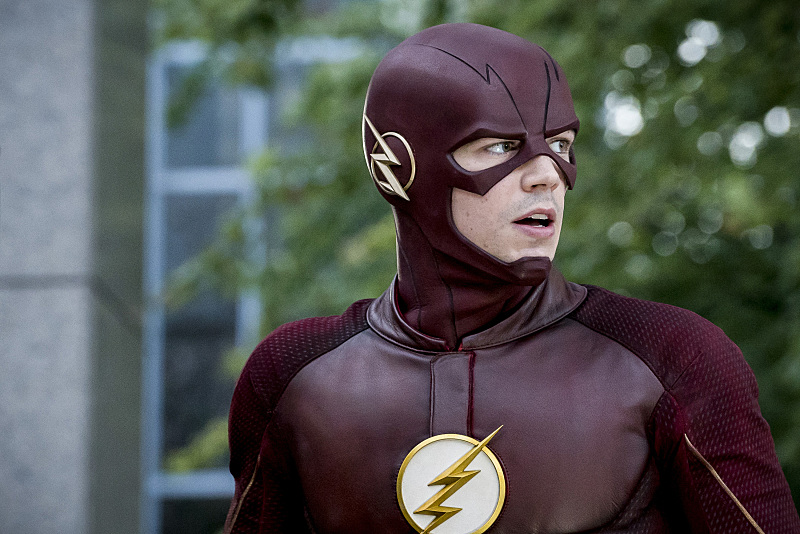 "The Flash -- ""Monster"" -- Image FLA305a_0107b.jpg -- Pictured: Grant Gustin as The Flash -- Photo: Katie Yu/The CW -- © 2016 The CW Network, LLC. All rights reserved."