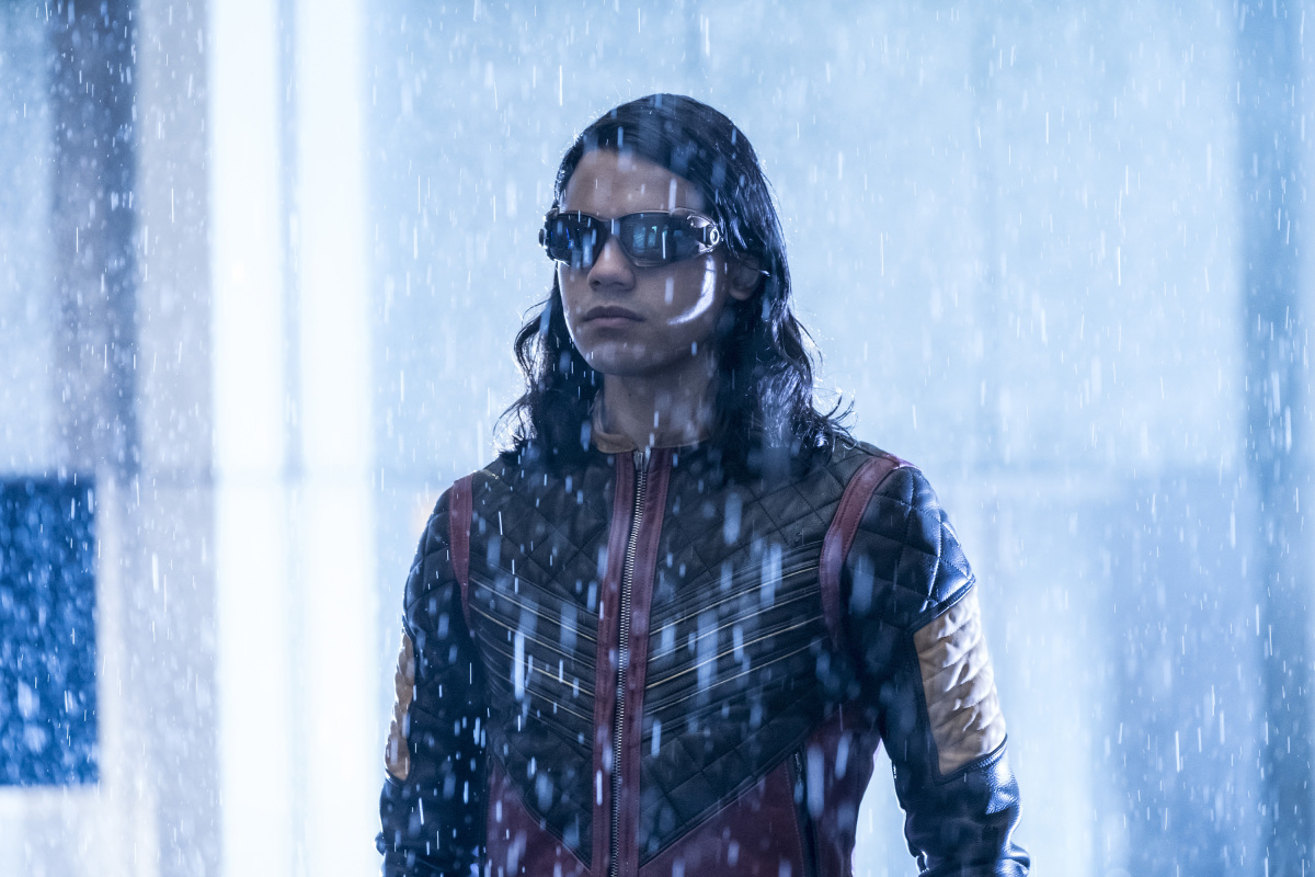 """The Flash -- """"Attack on Central City"""" -- FLA314a_0050b.jpg -- Pictured: Carlos Valdes as Cisco Ramon -- Photo: Katie Yu/The CW -- © 2017 The CW Network, LLC. All rights reserved."""