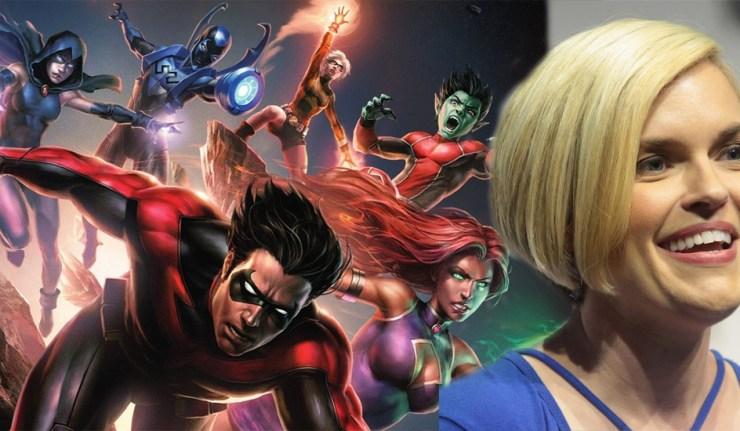 Kari Wahlgren interview teen titans dc comics news