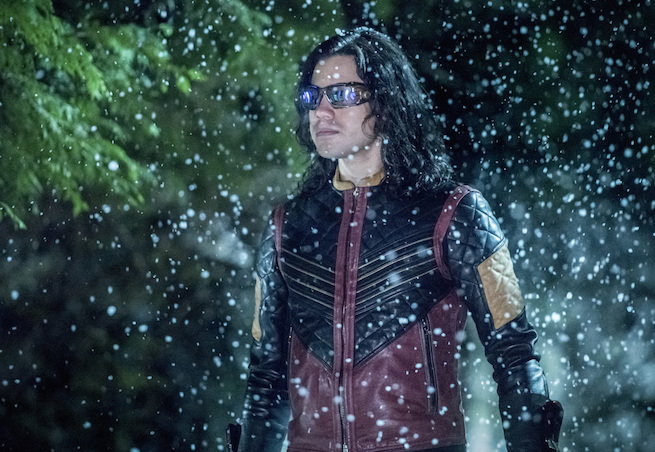 """The Flash -- """"Infantino Street"""" -- FLA322b_0305b.jpg -- Pictured: Carlos Valdes as Cisco Ramon -- Photo: Dean Buscher /The CW -- © 2017 The CW Network, LLC. All rights reserved."""