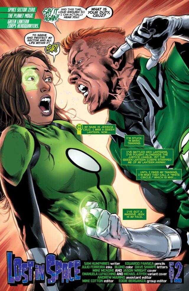 Review: Green Lanterns #23