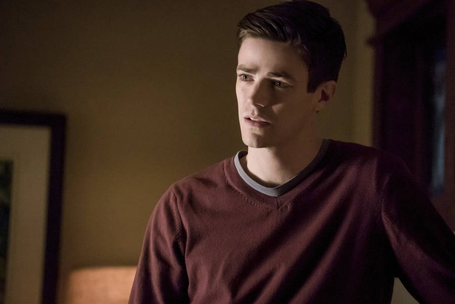 """The Flash -- """"Finish Line"""" -- FLA323b_0074b.jpg -- Pictured: Grant Gustin as Barry Allen -- Photo: Katie Yu /The CW -- © 2017 The CW Network, LLC. All rights reserved."""
