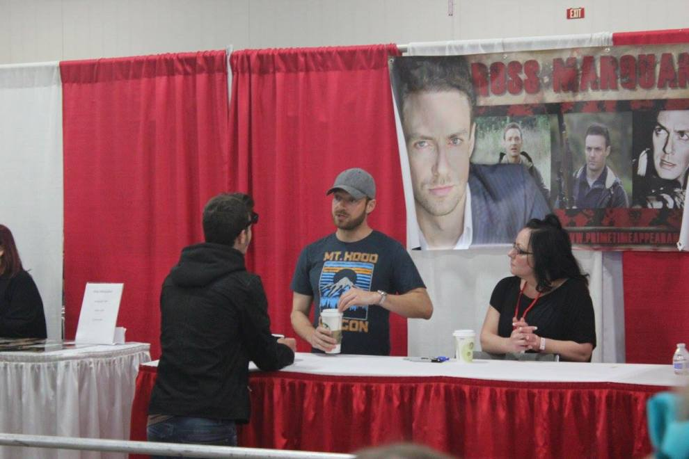 The Walking Dead's Ross Marquand
