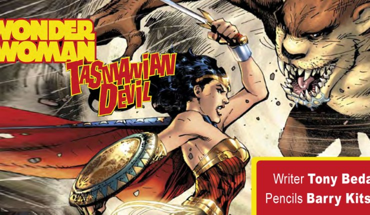 Wonder Woman Tasmanian Devil -DC Comics News