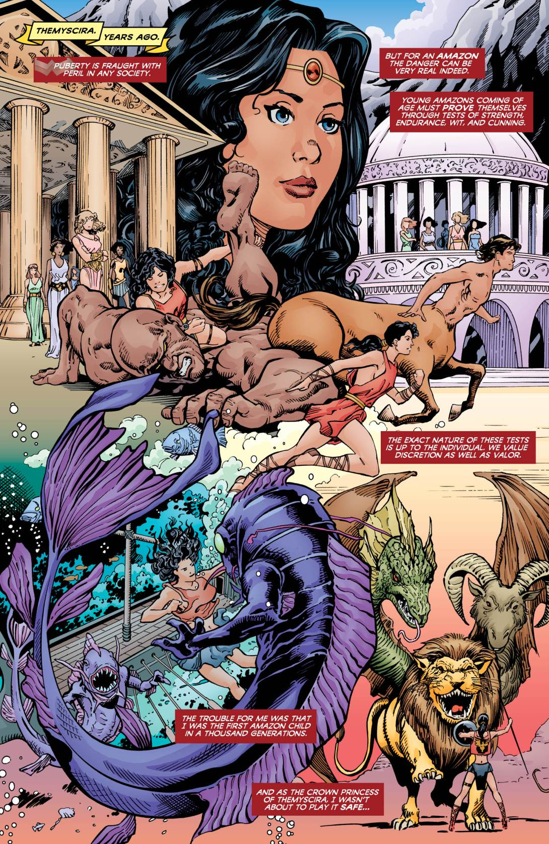 Wonder Woman Taz 3 - DC Comics News
