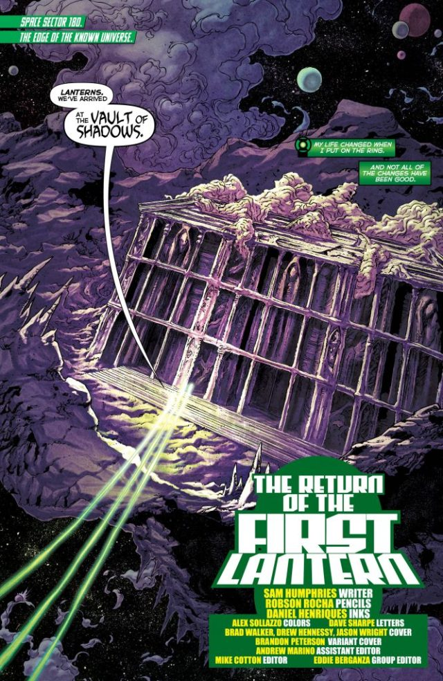 Review: Green Lanterns #25