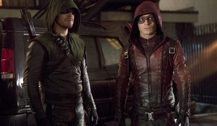 ARROW AND ARSENAL dc comics news