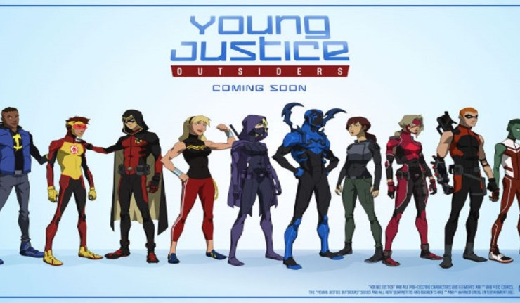 SDCC 2017: Young Justice Season 3 character costume ...Young Justice Season 3 Characters