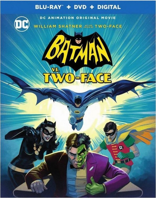 Batman vs. Two-Face Cover - DC Comics News