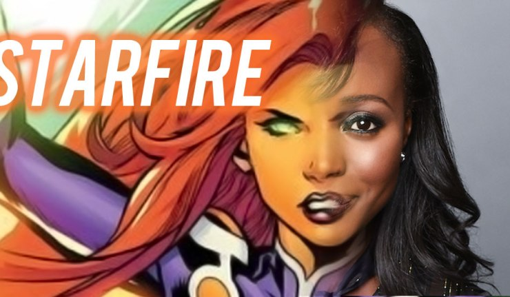 Titans Starfire - DC Comics News