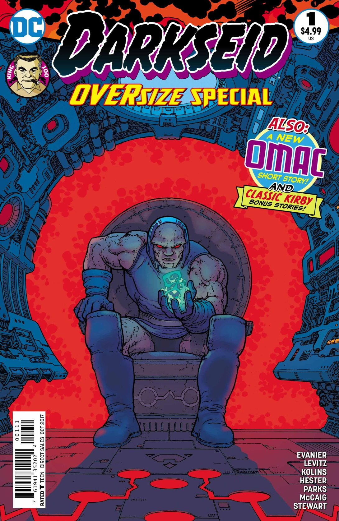 Darkseid Cover - DC Comics News