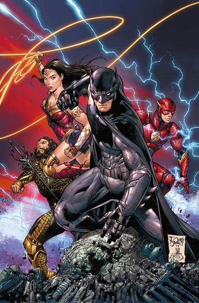 BATMAN #34 variant cover by Tony S. Daniel on sale Nov. 1