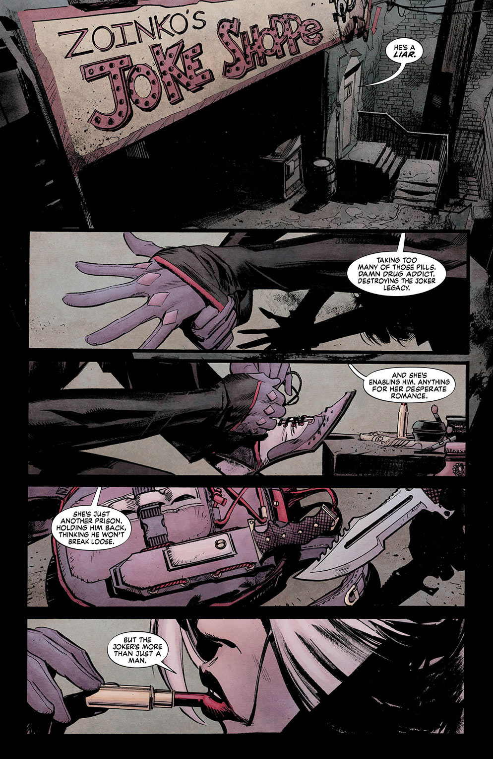 Batman White Knight 3_1 - DC Comics News
