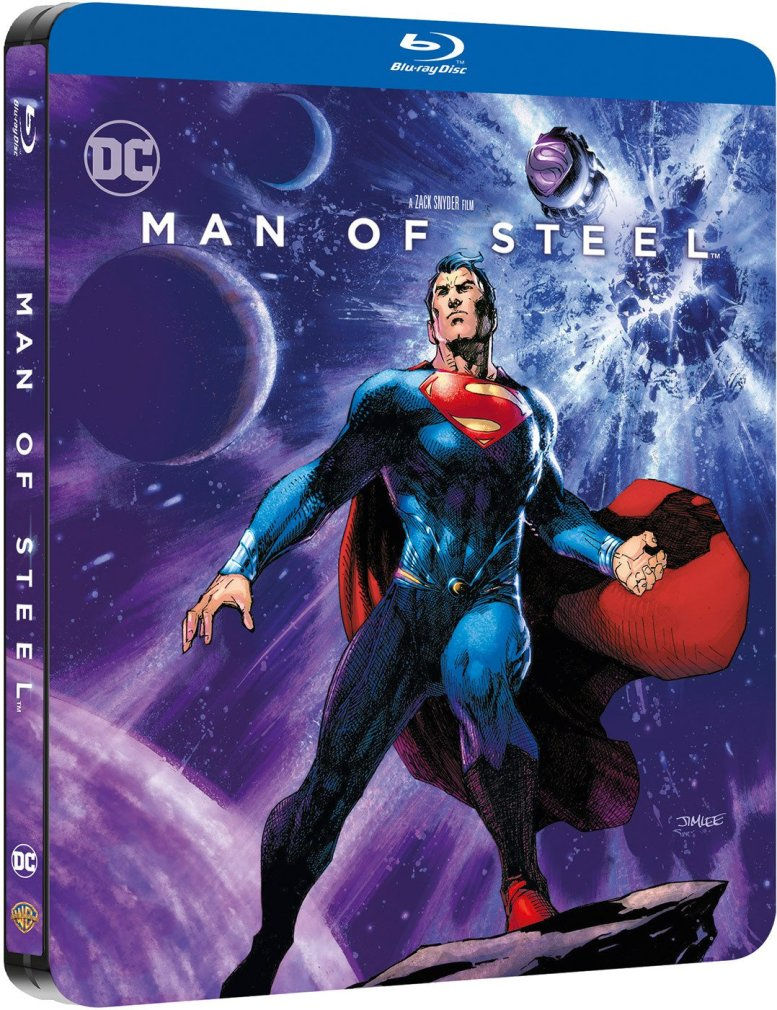 MAN OF STEEL artwork also available.