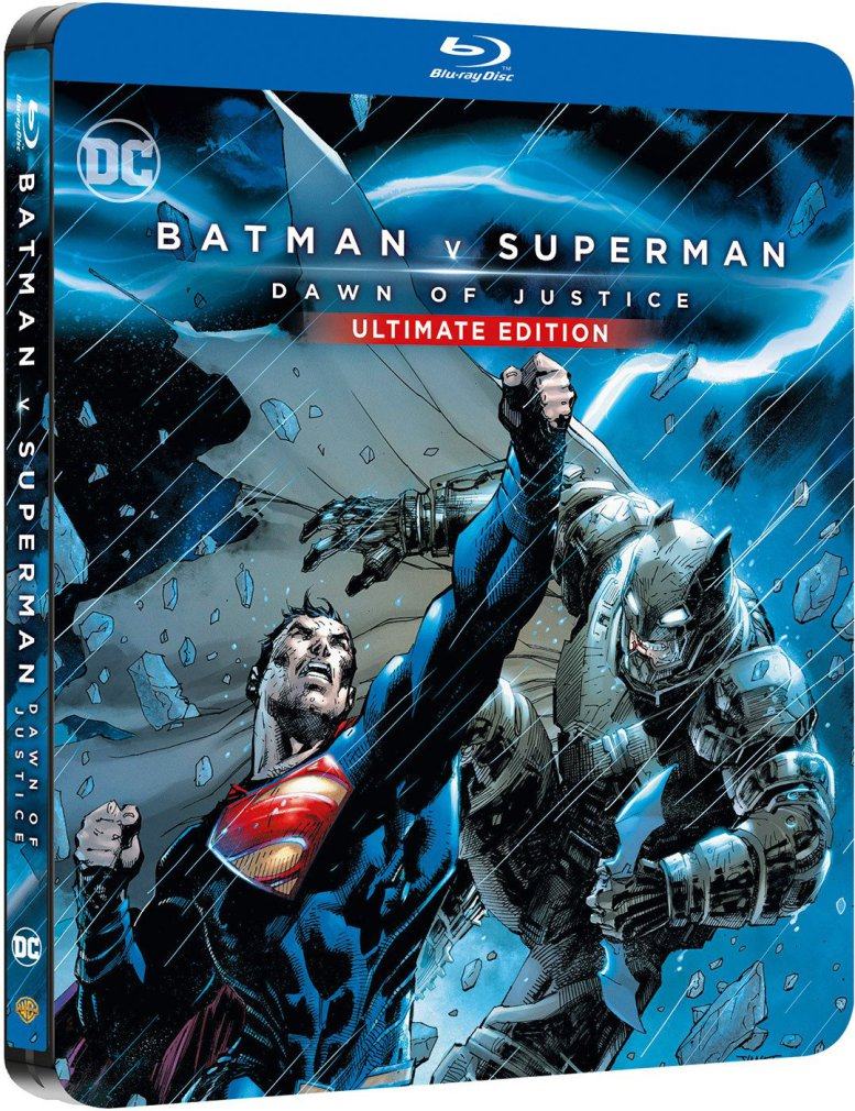 Original steelbook art for BvS.