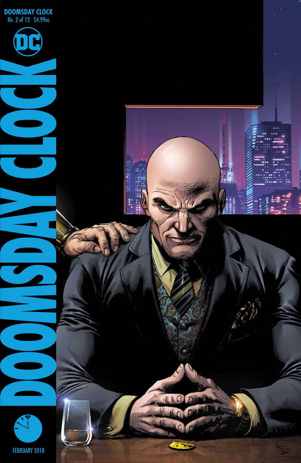 Doomsday Clock #2 - DC Comics News