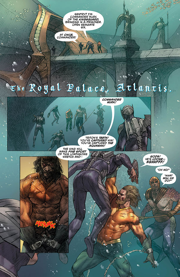 Aquaman 36 - page 1 - DC Comics News
