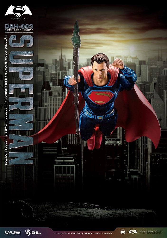 New Batman v. Superman Action Figures Announced dc comics news