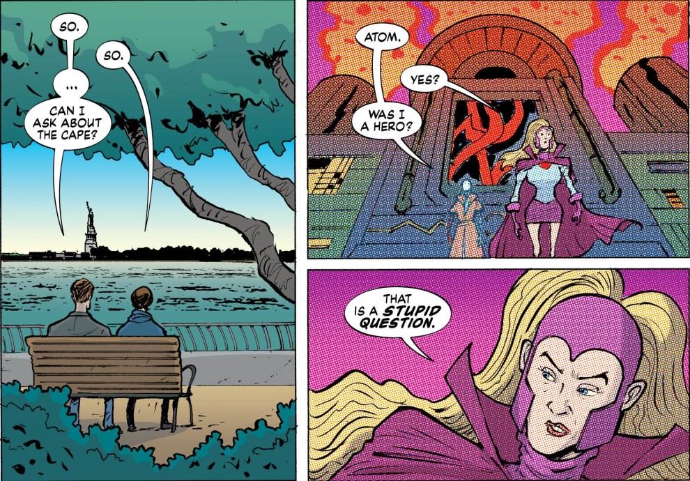 Never Man and Madame Atom