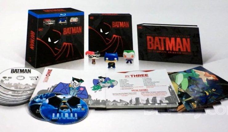 Batman Animated Blu-Ray dc comics news