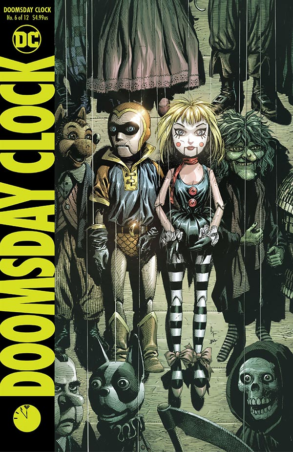 Doomsday Clock 6 - DC Comics News