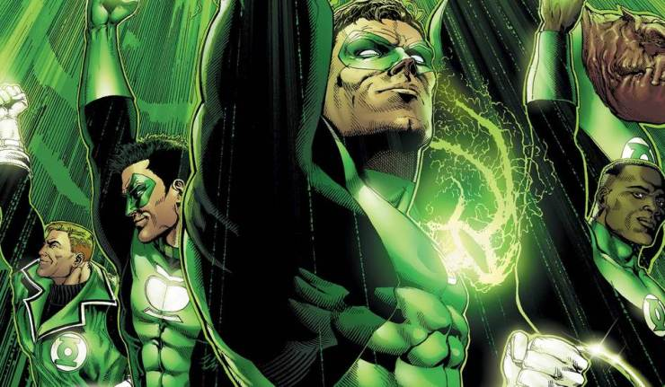 Geoff Johns Green Lantern Corps dc comics news