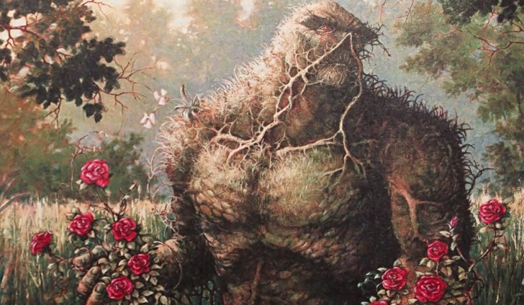Swamp Thing tv series alan moore dc comics news