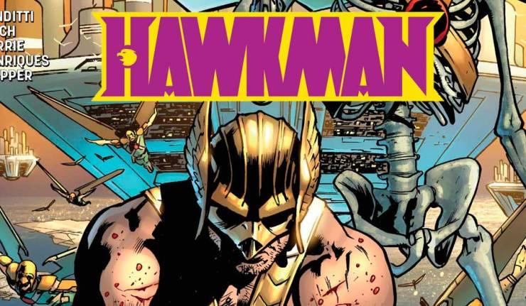 Hawkman 4 - DC Comics News