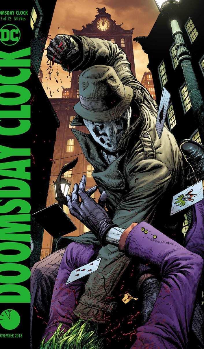 Doomsday Clock 7 - Variant - DC Comics News