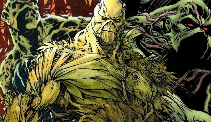 Azzarello & Capullo's Swamp Thing To Release As Halloween