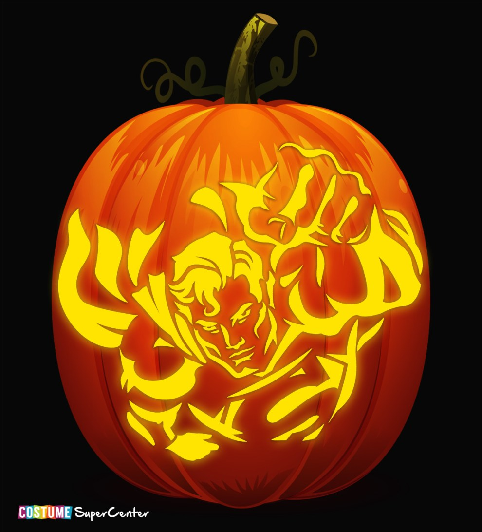 In Time For Halloween Justice League Pumpkin Stencils Dc Comics News