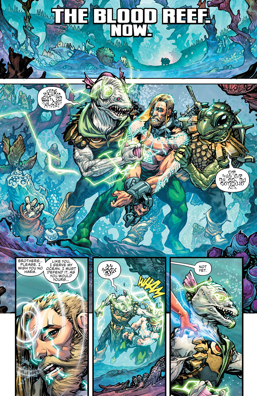Drowned Earth 3 - DC Comics News