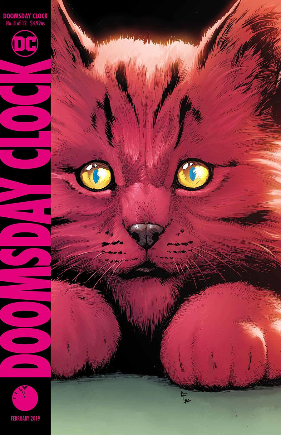 Doomsday Clock 8 - Cover 1 - DC Comics News