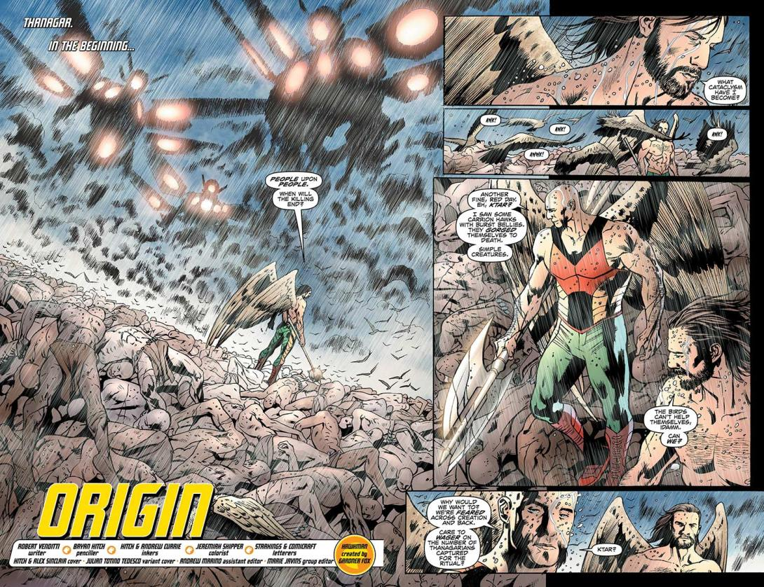 Hawkman - 7_2-3 - DC Comics News