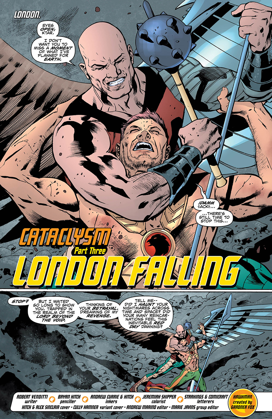 Hawkman 10_1 - DC Comics News