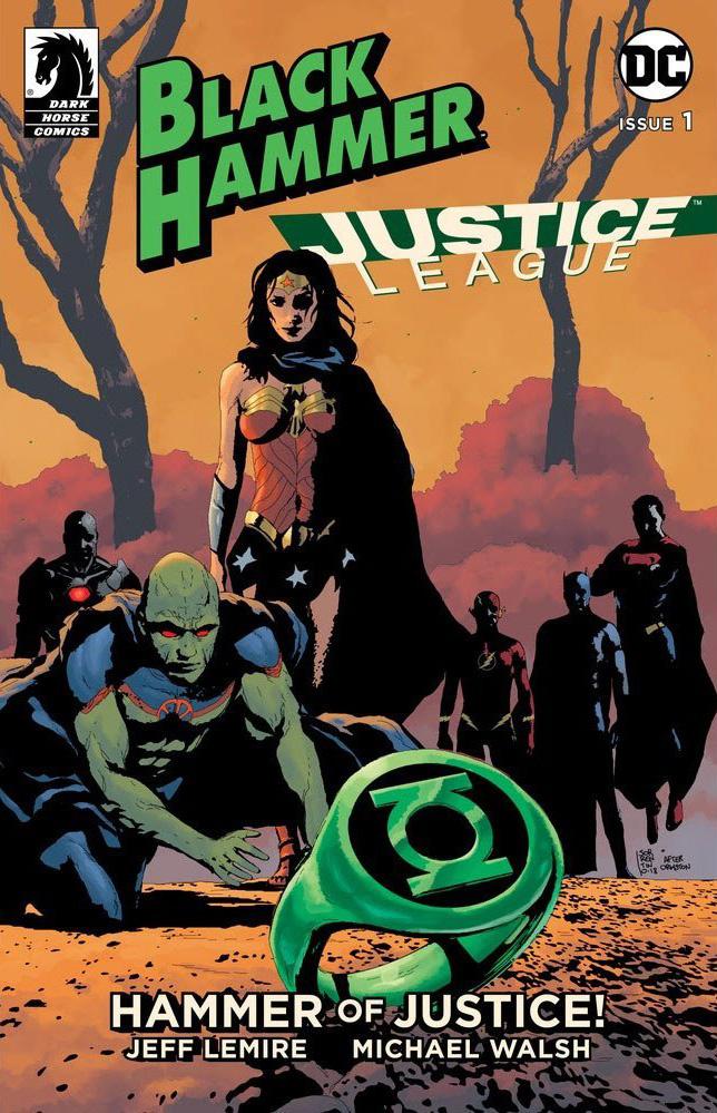 Black Hammer Justice League - DC Comics News