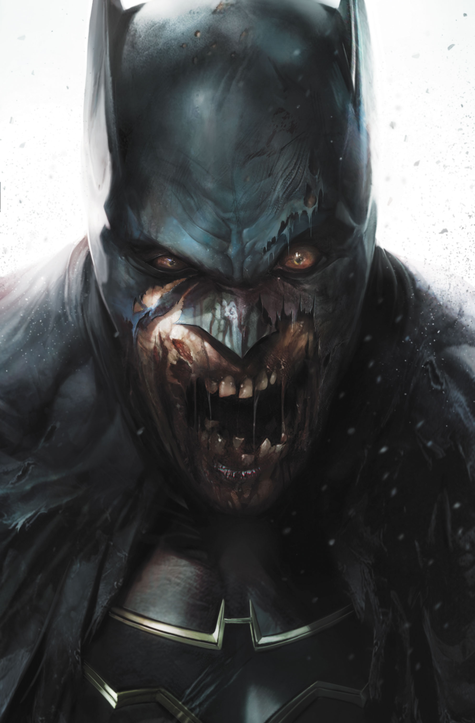 DCeased Cover Issue #1 variant by FRANCESCO MATTINA