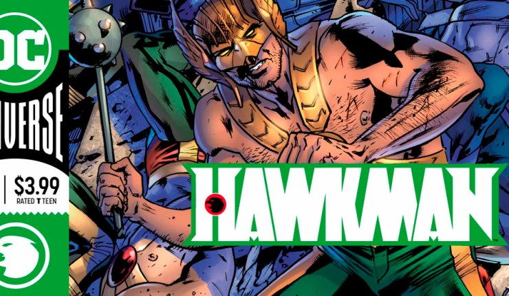 Hawkman 11 - DC Comics News