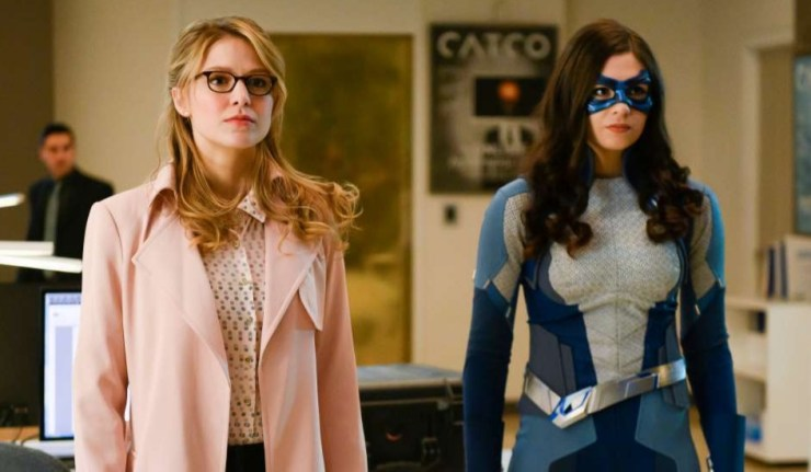 Supergirl and Dreamer from season 4 episode 19