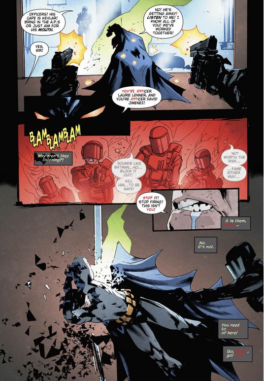 Batman Who Laughs page