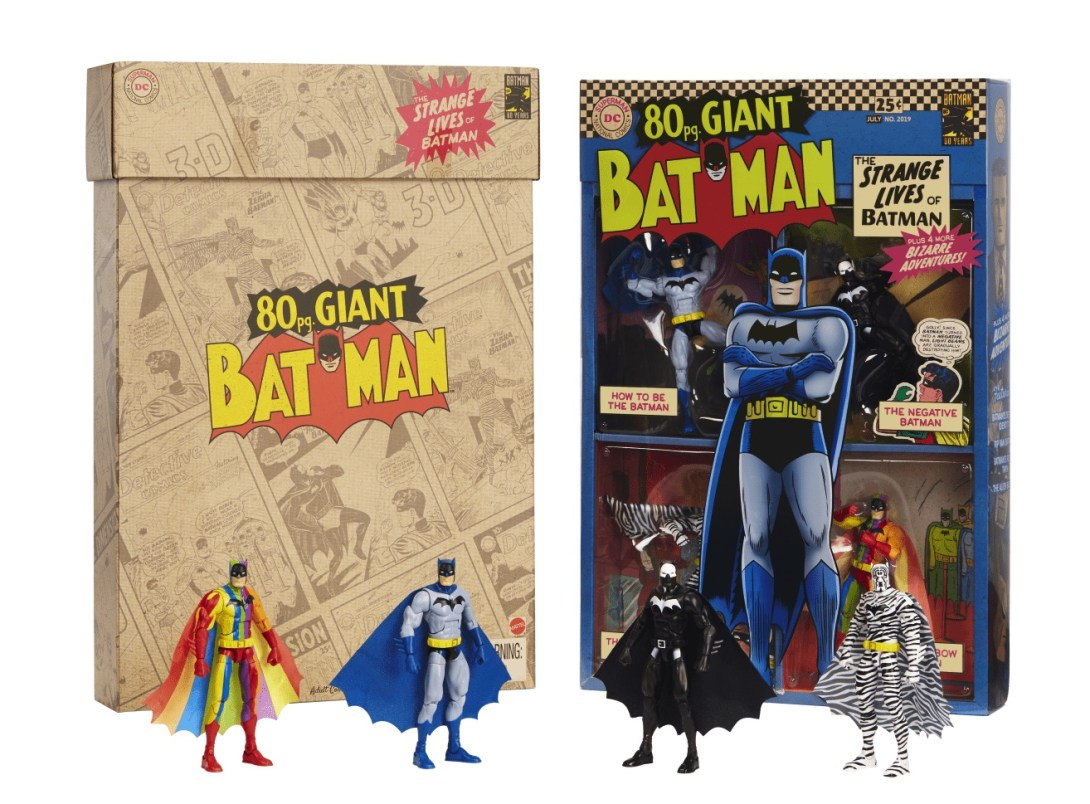 Strange Lives of Batman SDCC exclusive box
