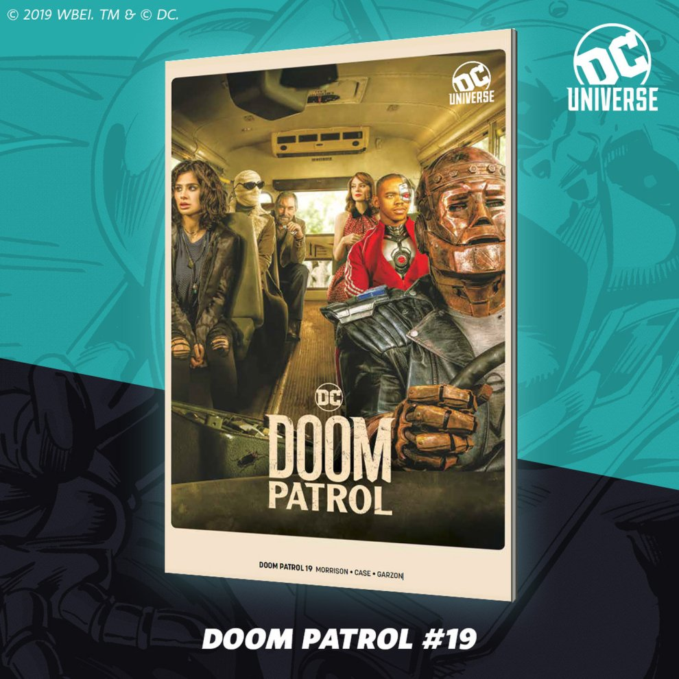 Doom Patrol SDCC Variant