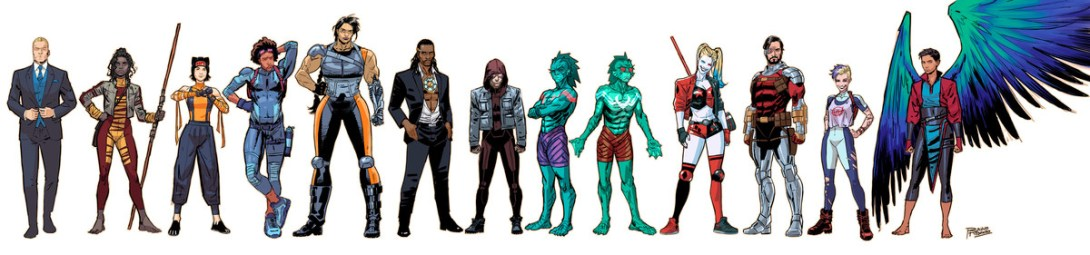 Suicide Squad new lineup