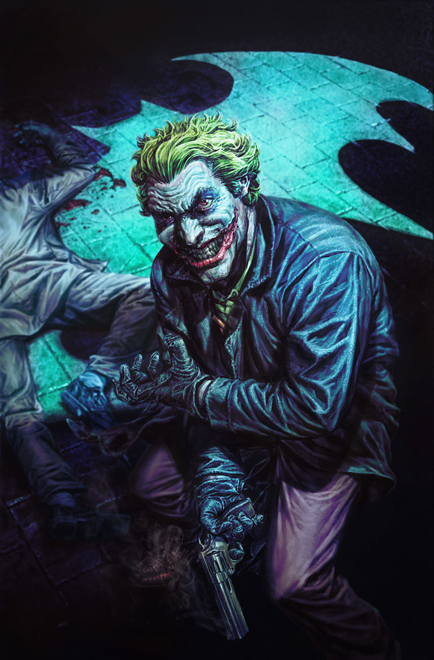2000s variant cover by Lee Bermejo